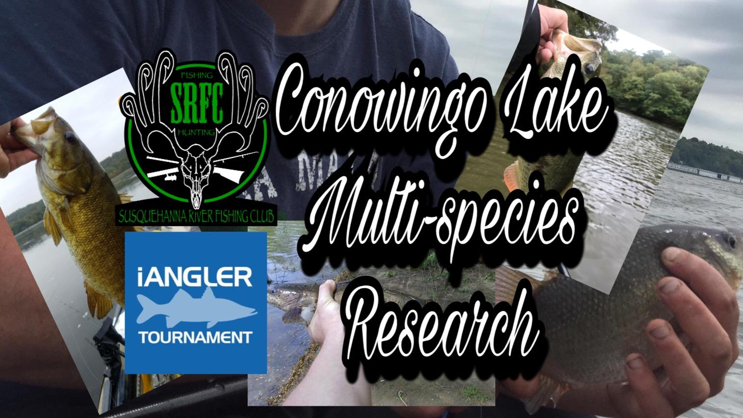 SRFC - 2018 Conowingo Lake Multi-Species Research
