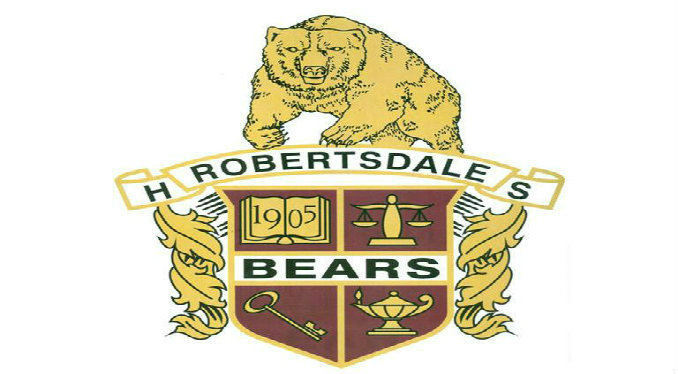 Robertsdale HS logo