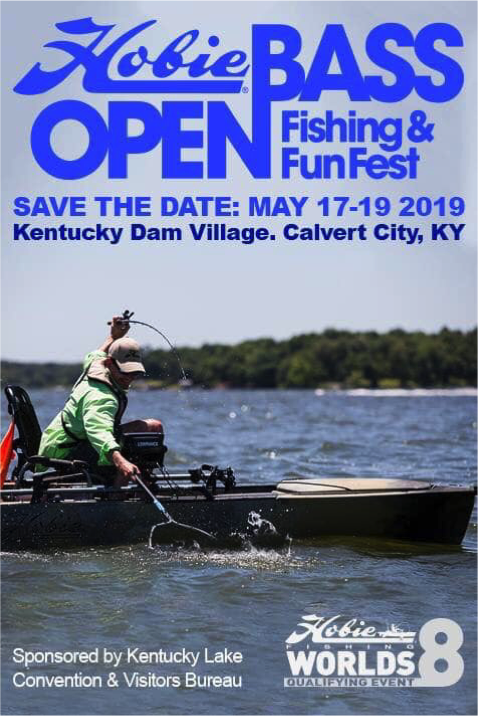 2019 Hobie Bass Open - Save The Date