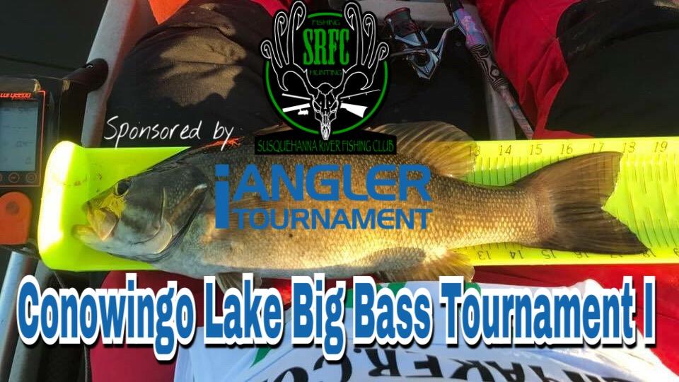 Srfc 2018 conowingo lake big bass tournament i for Susquehanna river fishing club