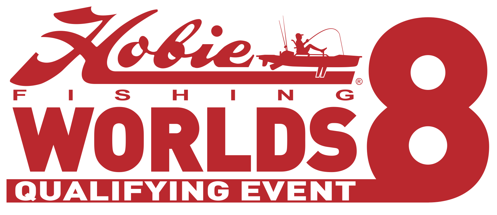Hobie Worlds 8 Logo - Red