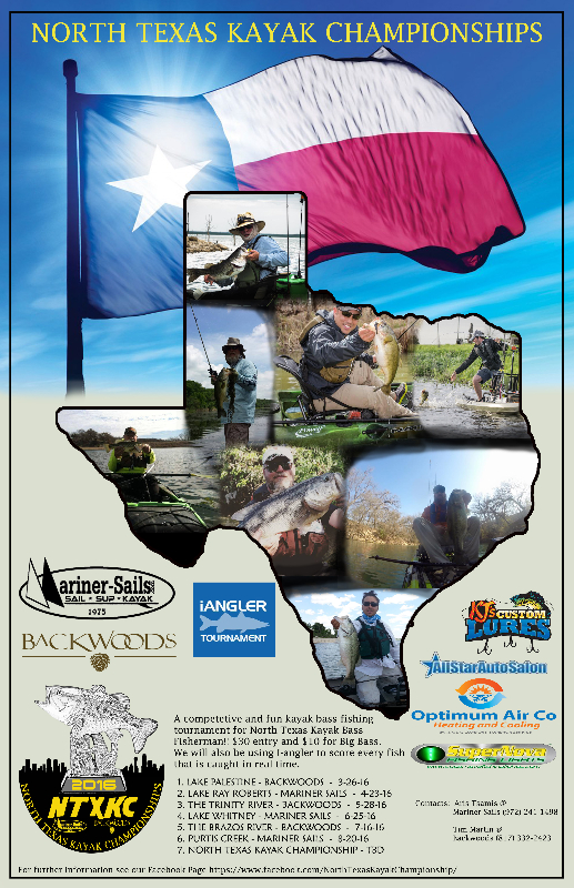 North Texas Kayak Championships - Poster