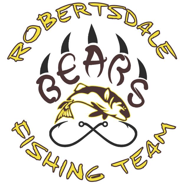 Robertsdale HS Fishing Team Logo